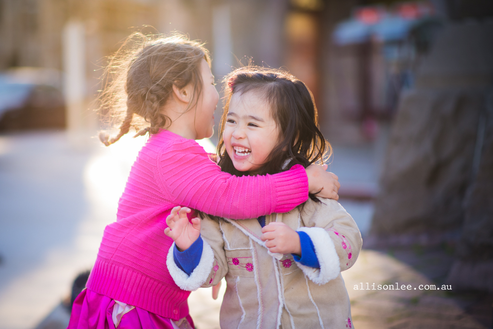 Capturing Joy - Childhood Friendships {Sydney Urban Photography}
