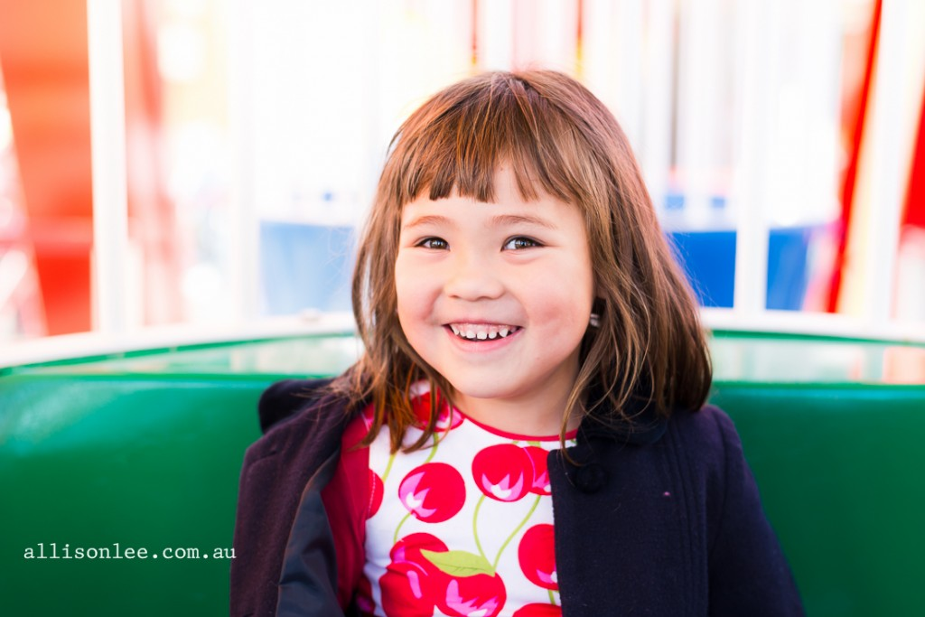Magical afternoon at Iconic Luna Park {Sydney Child Photographer}