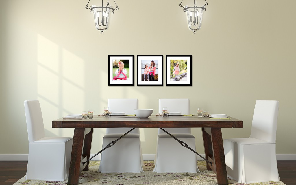 framed wall photograph collection