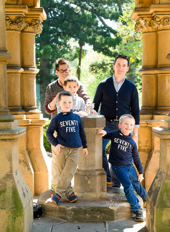 Family photography session in Sydney Hyde Park